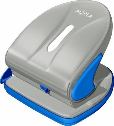 Perforator 25 coli Acvila 7196C0 gri / albastru
