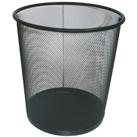 Cos metalic mesh pentru birou