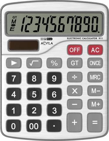 Calculator metalic 10 digit Acvila 911
