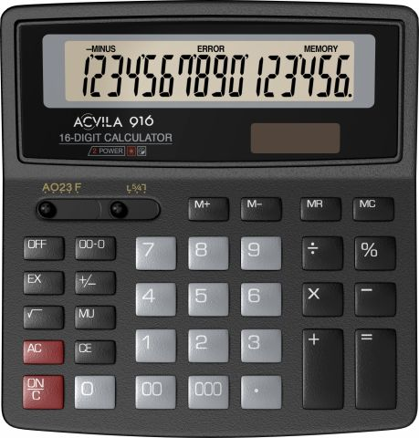 Calculator 16 digit Acvila 916