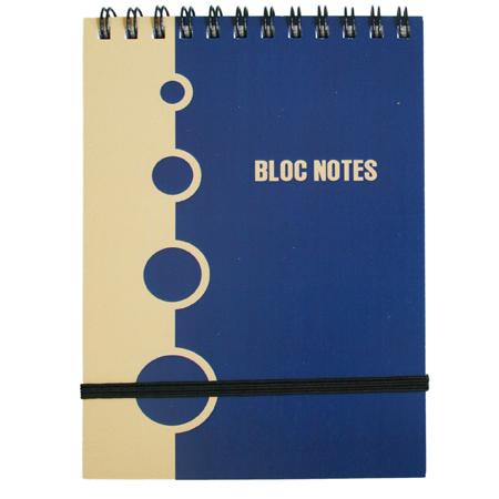 Bloc notes A6 cu spirasi elastic, dictando, Acvila