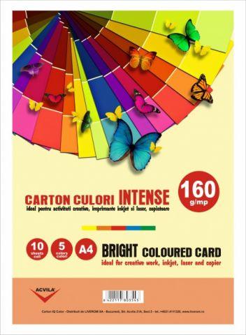 Carton color 160 g/mp culori intense