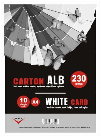 Carton alb 230 g/mp