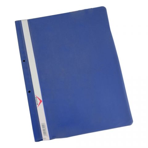 Dosar plastic A4 cu sina, gauri pentru indosariere, Acvila