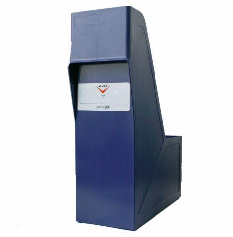 Suport plastic pentru documente albastru