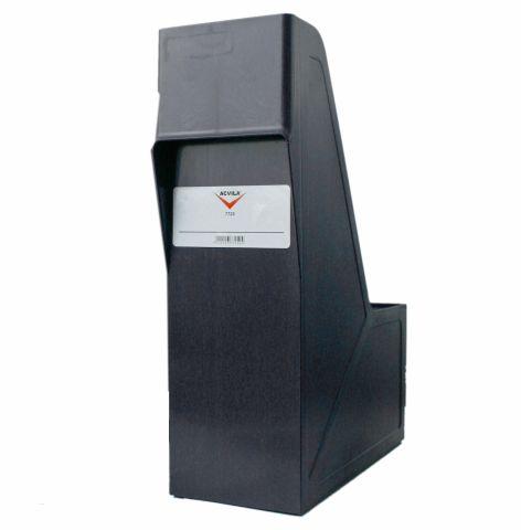 Suport plastic pentru documente negru