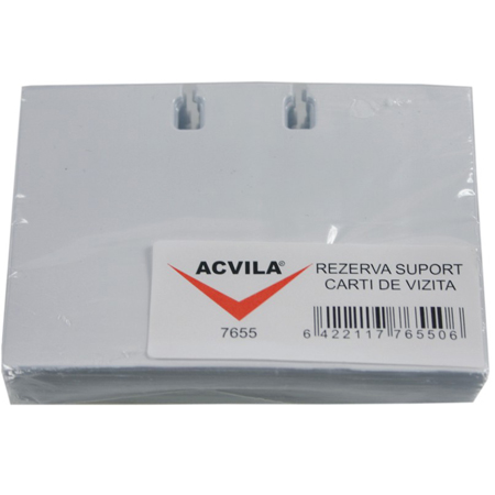 Rezerva carti de vizita pentru suport rotativ