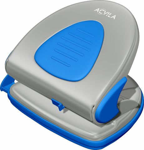 Perforator 16 coli Acvila 7190C0 gri / albastru